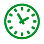 Check in time icon